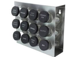 The Prodyne Stainless Steel Spice Rack