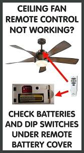 hunter ceiling fan remote not working light doesnt work control replacements and programming for bay harbor