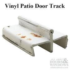 sliding glass door track vinyl patio glass door track white discontinued sliding glass door track cover