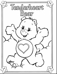 Small Picture Easy to Color the Care Bears Coloring Pages Womanmatecom