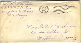 war ii solrs letters