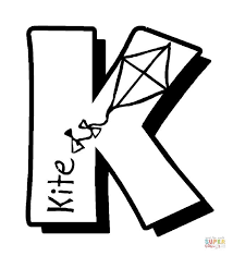 Small Picture K is for Kites coloring page Free Printable Coloring Pages