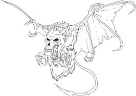 The Best Free Creepy Coloring Page Images Download From 208 Free