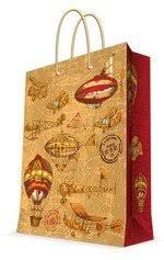Пакет подарочный, <b>Феникс Презент</b>, Самолеты и дирижабли 11 ...