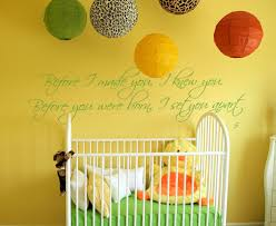 before i made you i knew you wall decal