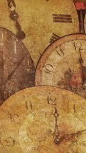 Antique Clocks Vintage IPhone 6 Wallpaper