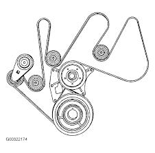 03 Chevy Impala Belt Diagram
