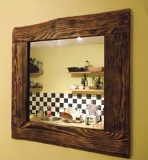 wood mirror frame. Recycled Pallet Wood Mirror 1 Frame Q