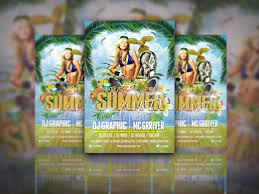 Summer Party Free Flyer Psd Templates Download