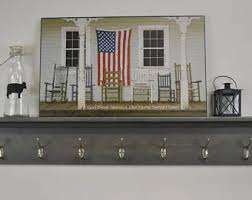 Entryway Wall Mounted Coat Rack Entryway coat rack Etsy 71