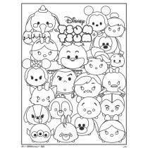 Star Wars Tsum Tsum Coloring Pages