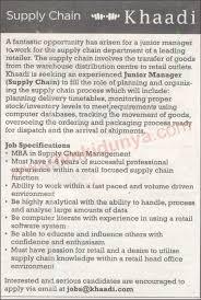 Supply Chain Manager Jobs In Karachi