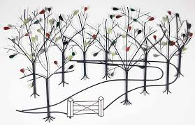 large outdoor metal wall art bing images on wall art garden uk with garden wall art uk elitflat