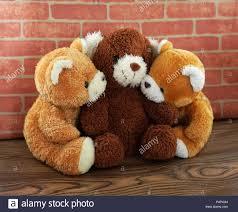 Hug Bears That Light Up Hug Three Bear Toy And Doll Brown And Light Brown With