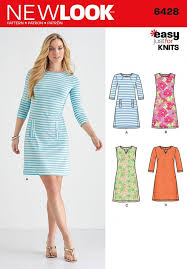 Knit Dress Sewing Pattern