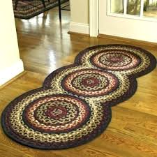 primitive area rugs 5x7 braided