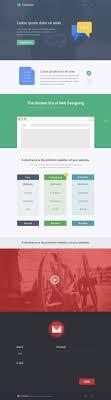 Single Page Website Design Template Free Single Page Website Design Template Psd Css Author