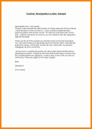 6+ resignation letter for teacher | cover title page