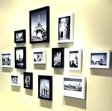 wall frame set gallery frames lot wooden photo for picture home decoration photos up