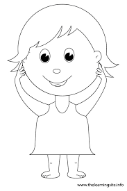 Small Picture Body outline coloring pages download and print for free