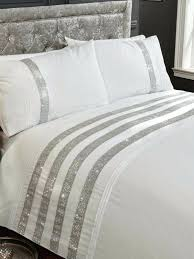 super king size duvet covers bed linen your cosy home carly white diamante cover ikea too