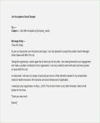Job Offer Letter Format Doc India Best Of Offer Letter Acceptance
