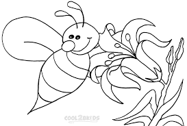 Small Picture Color Bumble Bee Coloring Pages Fresh On Plans Free Free Coloring