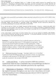 school j1 requirement health insurance