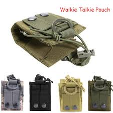 <b>Outdoor Tactical</b> Sport <b>Military</b> Molle <b>Nylon</b> Radio Walkie Talkie ...