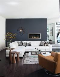 Wall Color Living Room The Bold And The Beautiful Feature Walls Midnight Blue I Love