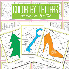 Free printable summer 26 page alphabet coloring book. Color By Letters Alphabet Shapes Itsybitsyfun Com