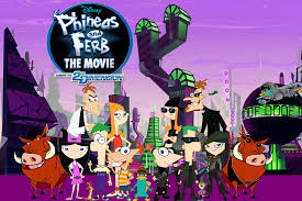 disney channel original phineas and ferb across the 2nd dimension