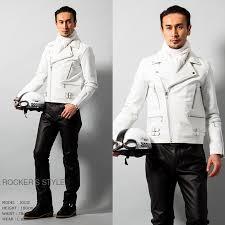 leather jacket jacket leather jean new men genuine leather uk type double ray sanders skin jean