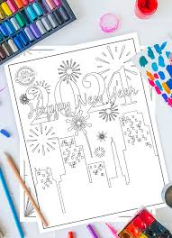 They'll be sure to keep the little ones printable christmas coloring page pdfs. Celebrate New Year S With This Free New Years Coloring Pages 2021