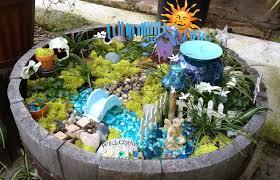 Small Picture Small Fairy Garden Ideas Landscaping Design Design Ideas Decors