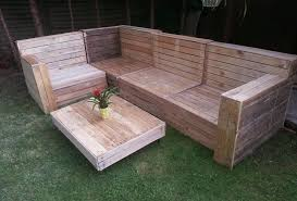 how to make patio furniture out of wood pallets pallet garden couch upcycle in 2018