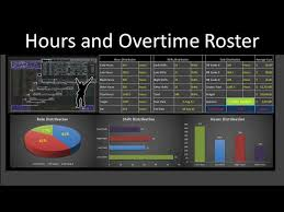 Overtime Calculation In Excel Format Excel Roster To Calculate Hours And Overtime