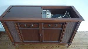 ... Imposing Ideas Record Player Cabinet Antique YouTube ...