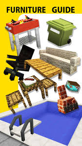 Furniture Mod Guide Video Game Pocket Wiki for Minecraft PE