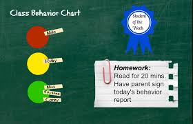 Chart Moves Behavior A Letter To Teachers On The Use Of Stoplights In The