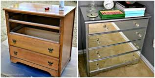 how to make mirrored furniture. Plain How DIY Mirrored Nightstand11fantastic Idea And So Much Cheaper Than Buying  One In The Furniture Store To How Make Furniture