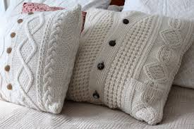 DIY Upcycled Sweater Pillow Case | Maiden Jane
