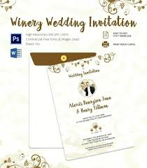 Wedding Card Template Word Printable Invitation Format Marathi
