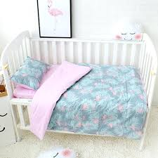 flamingo crib bedding flamingo crib bedding fl nursery set rosewater in peach crib collection pink flamingo