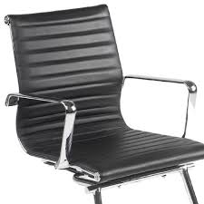 leather and chrome chair. Leather And Chrome Chair