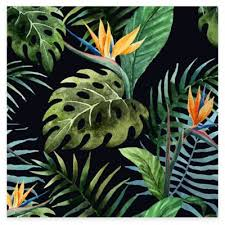 outdoor canvas art. Tropical Foliage All Weather Outdoor Canvas Art