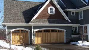 wood garage doorsWood  Custom Doors  MN Garage Door Repair and Installation Services