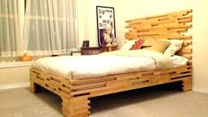 Decoration Unique Bed Frames New Wood Ideas Frame Design Within ...