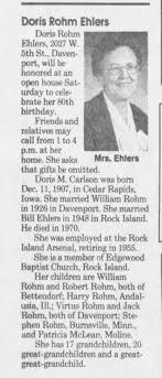 Doris Carlson - Newspapers.com