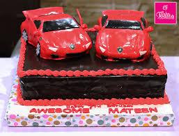 Lamborghini Cars Birthday Cake Customized Cakes In Lahore